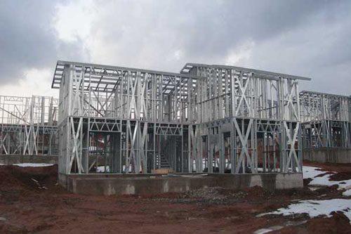 Здания на основе облегчённого металлического каркаса в Улан-Удэ